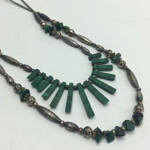 Boho Multi-Strand Statement Necklace
